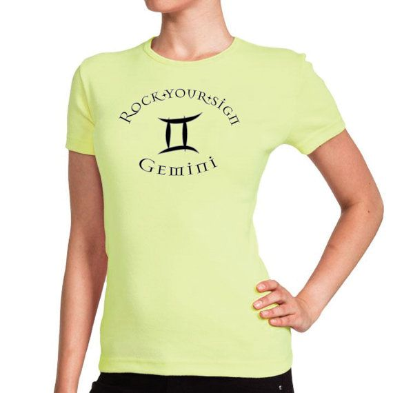 Women's Gemini Zodiac Rock Your Sign TShirt by RockYourSign