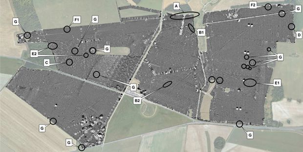 High-tech imaging reveals hidden Stonehenge - The project produced detailed maps of 17 previously unknown ritual monuments and a huge timber building, which is thought to have been used for burial ceremonies - Text and Image : © The Associated Press / 2014