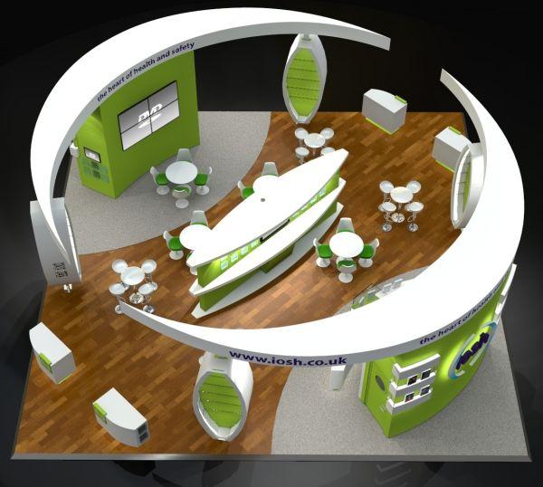 Exhibition stands design for IOSH