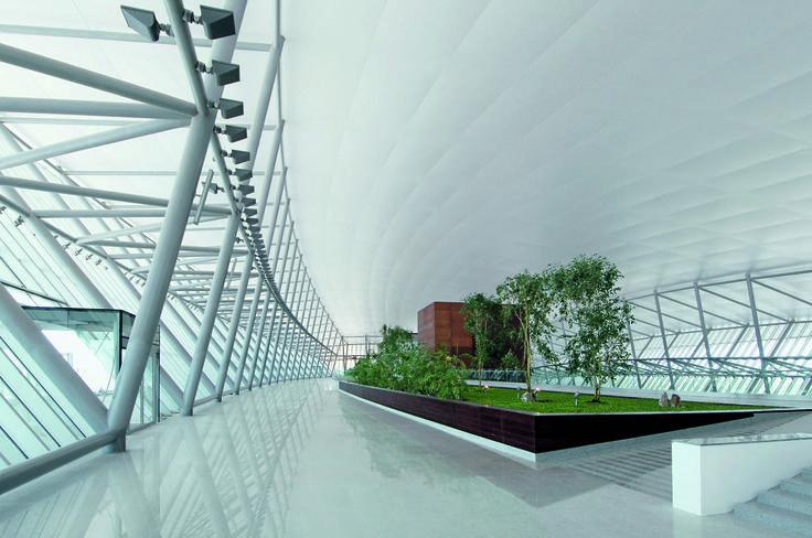 Carrasco International Airport | Rafael Viñoly Architects | Public Departures Hall. Photo: Daniela Mac Adden
