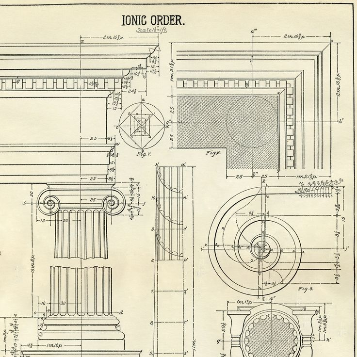 Architecture Printable Ionic – Diagram