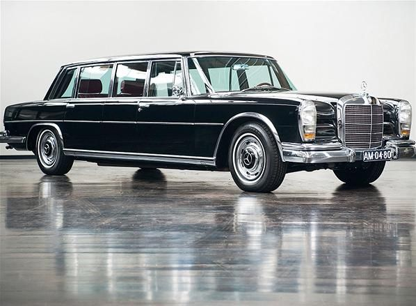 1967 mercedes 600 pullman limousine