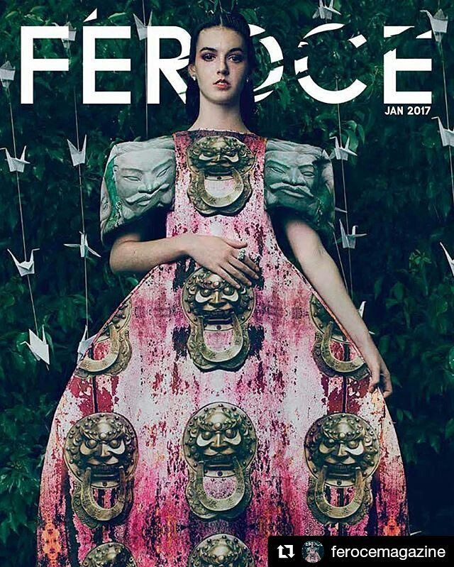 what a year it's been 2016 to top it off this stunning cover and editorial shoot with #newface discovery @stephvella #avamodels  #Repost @ferocemagazine with  JAN 2017 Issue of Feroce Magazine Photographer // Daniela Raiti @danielaraiti  Creative Directors // Megan Quigley & Daniela Raiti  HMUA // Kelli Malseed @kellimalseedmakeup  Stylist // Megan Quigley @thetattooedgeisha  Model // Stephanie V from AVA Model Management @stephvella / @avamodels  Assistant & Videographer // Pea…