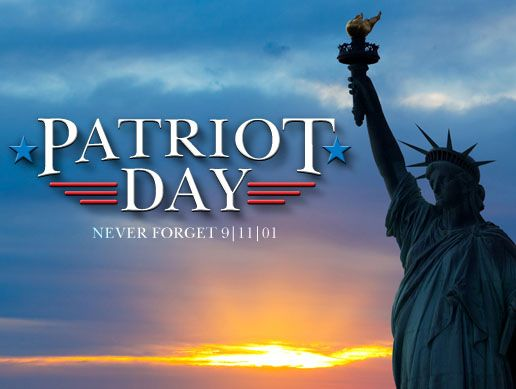 """September 11 currently has the official name from Congress of """"Patriot Day,"""" but it isn't a national holiday. Description from savingadvice.com. I searched for this on bing.com/images"""
