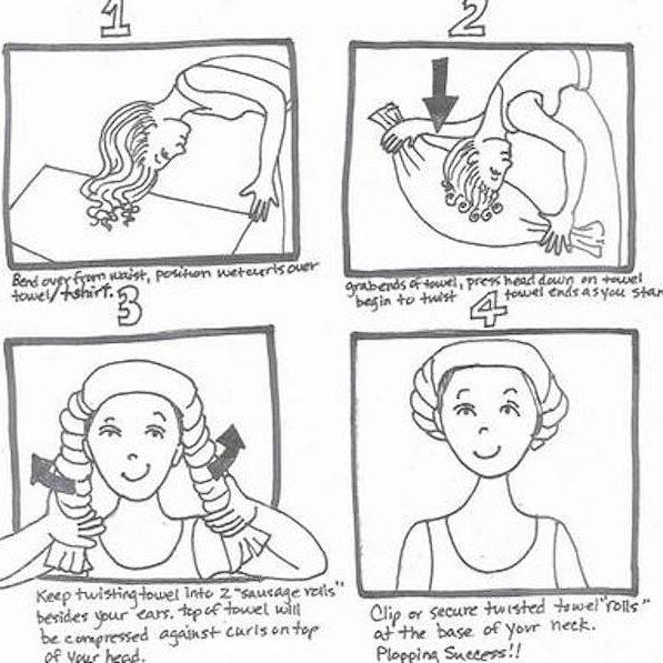 Here's How To Plop Your Hair For The Best Curls Of Your Life