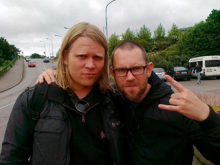 Þráinn Árni Baldvinsson & Björgvin Sigurdsson (Skálmöld)