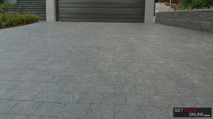 Porcelain cobble stone brick pattern 300x300 (Code:00497) - Get Tiles Online