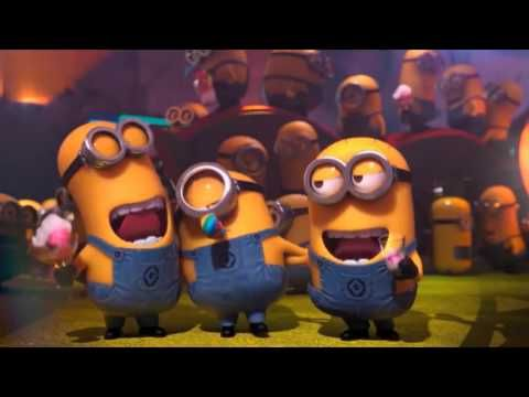 Little Minions singing the Happy Birthday Song Nursery Rhymes Kids Family Songs Educational - YouTube