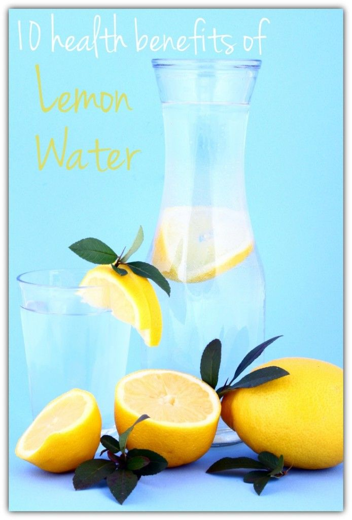 10 Health Benefits Of Lemon Water: 1. It's Good For Your