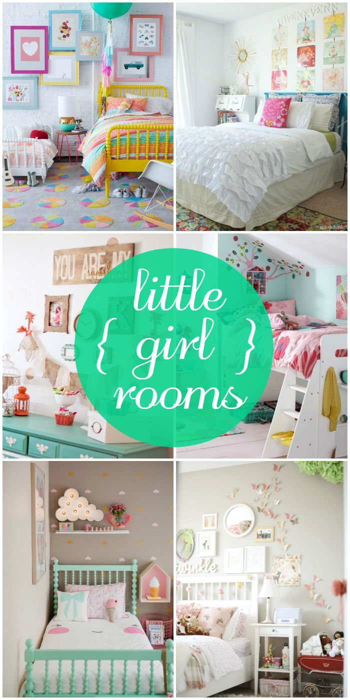 A roundup of gorgeous little girl rooms