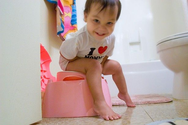 We started toilet training our daughter at twelve months because she seemed ready. She was cooperative and somewhat successful for over two months, but suddenly she seems to be rebelling. Now she won't go anywhere near the potty and we feel frustrated.'