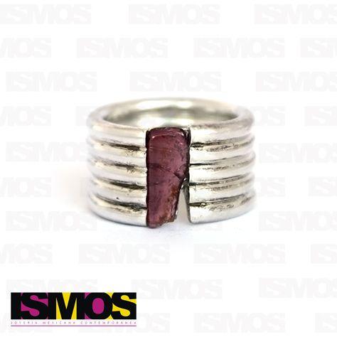 ISMOS Joyería: anillo de plata y cristal // ISMOS Jewelry: silver and crystal ring