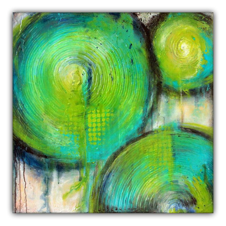 25 Best Ideas About Green Paintings On Pinterest: 25+ Best Ideas About Circle Painting On Pinterest
