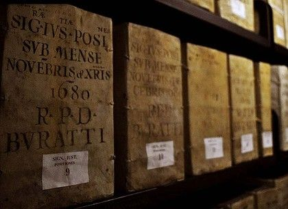 Door of Vatican's secret archive opens an inch  Tom Kington  March 1, 2012    Read more: http://www.smh.com.au/world/door-of-vaticans-secret-archive-opens-an-inch-20120229-1u3dg.html#ixzz1nonkZKWb