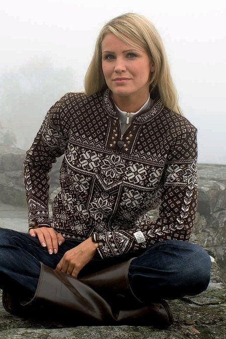 DALE OF NORWAY | Peace Feminine Sweater | Shop now at Daleofnorway.com: