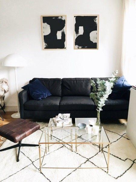 Très chic - so sieht unser Walken Sofa in dem Pariser Apartment unserer Kundin aus. | Made Unboxed