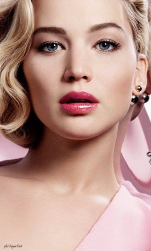 Jennifer Lawrence for Dior Addict