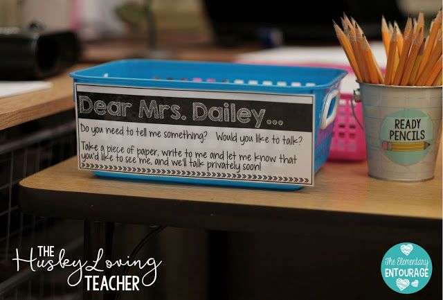 Build positive relationships with your students with this simple Teacher Talk Bin, so easy to set up!