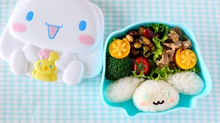 Create Eat Happy :): How to Make Cinnamoroll Bento Lunch Box - Video Recipe