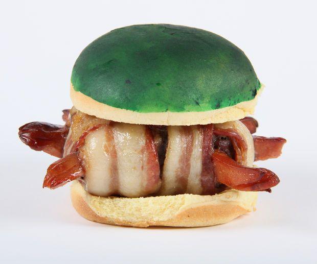 Koopa Troopa bacon burgers! #supermario