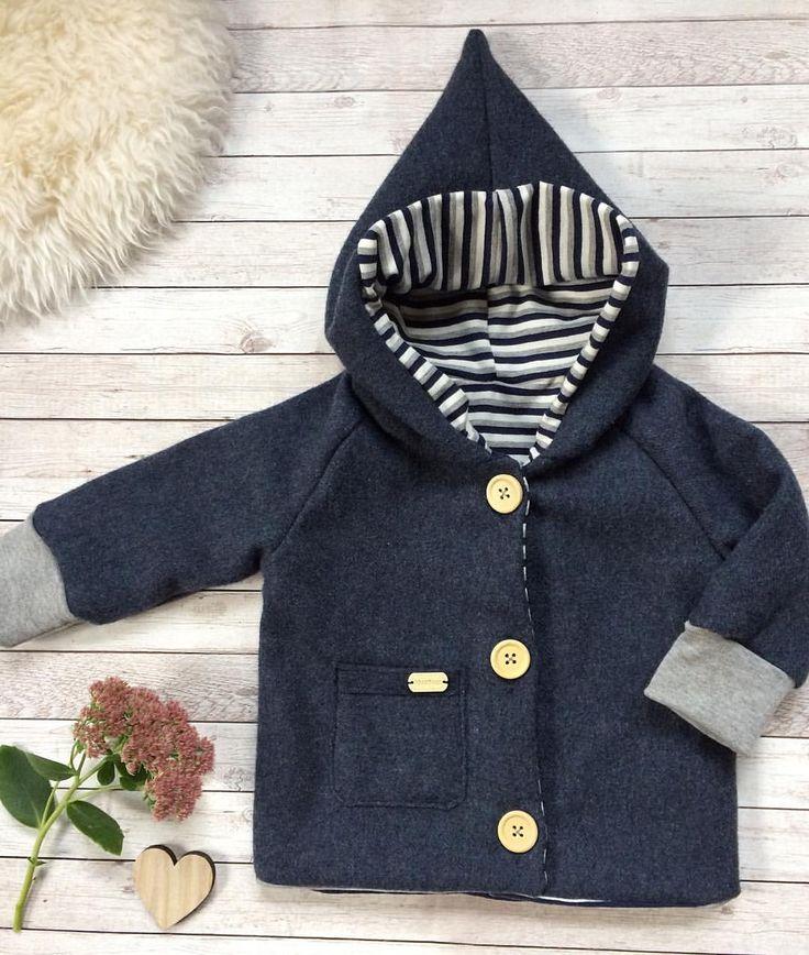 VERKAUFT #frischgenäht#zumverkauf #newborn#wollwalk#walkjacke#übergangsjacke#größe68#madeitmyself#handmade#zipfeljacke#walkmantel#blau#streifen#babyjacke#baby#babyfashion#baby2017#baby2018#unikat#einmalig#babyboy#jacket#⏩ bei Interesse bitte eine Nachricht per DM😉