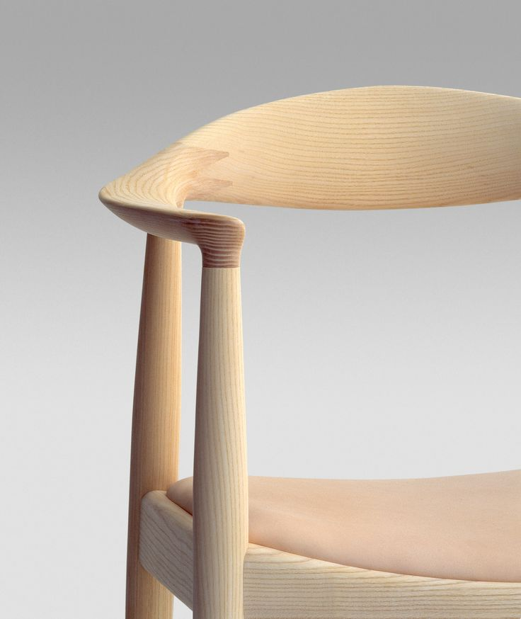 THE chair. Hans Wegner, one of the great heros of Scandinavian modern. Such elegant work.