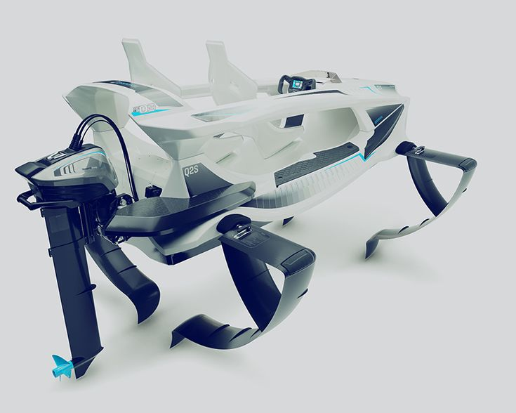 quadrofoil Q2S elektryczny Designboom