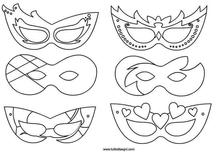 Maschere da stampare #addobbinatalizicalze #gufo #laboratoriperbambini
