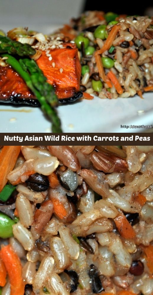 This nutty wild rice is with its Asian-inspired flavors makes a terrific side for seafood, poultry, pork and beef.
