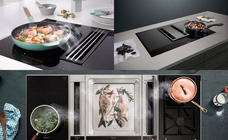 Im Kochfeldabzug Lautstärken-Vergleich erfährst du, wie laut oder leise die Kochfelder mit integriertem Dunstabzug der verschiedenen Hersteller sind.