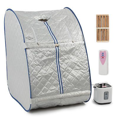 Portable Steam Sauna Tent Slimming Full Body Spa Therapy Detox Loss Weight