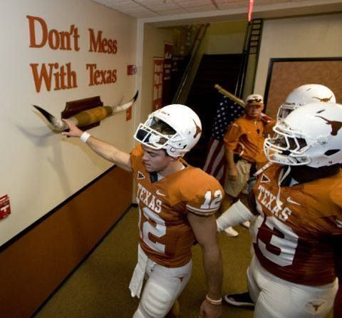 Don't Mess with Texas.  I love the state, the city, and the university.  A strong sense of community where nothing less than excellence is accepted makes UT the place for me.  #LonghornPride