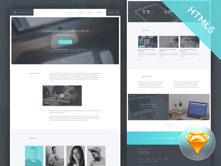246 besten FREE Website Responsive HTML/Bootstrap/Templates ...