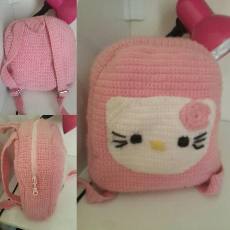 Hello Kitty  tig isi sırt çantası