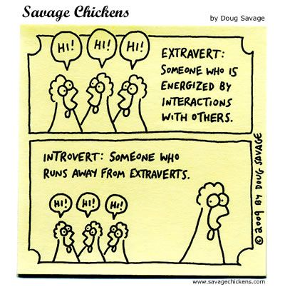Extroverts vs. Introverts...is one better than the other?