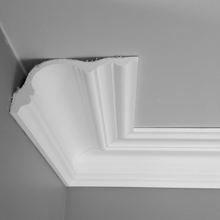 Large plaster cornice Victorian and Edwardian plaster coving, offers ceiling projection 165mm x 90mm down wall. Profile 197mm. White finish finest premium plaster coving made from 100% moulding fine plus plaster