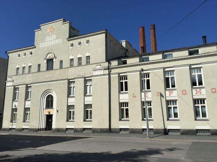 Oulun Osuuskauppa, Oulu, Finland. Photo: Mauri Kuorilehto (23.7.2015).