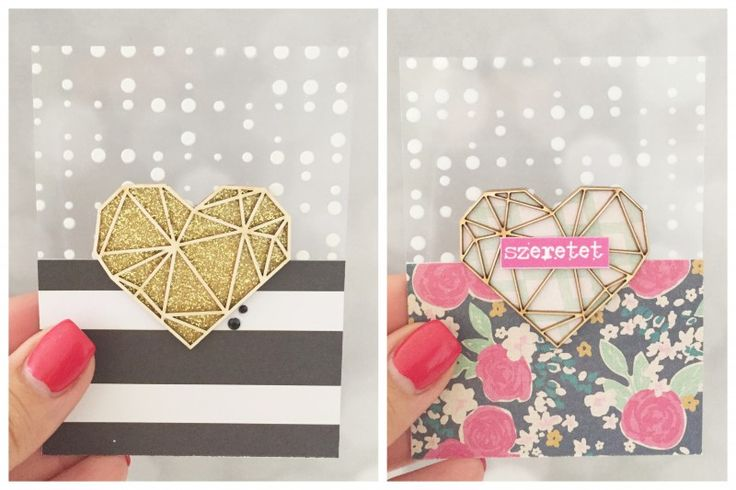 Foil cards by Edit Hulman