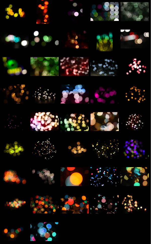 Free for commercial and personal use. Tonnes of different packs.     Bokeh Effects Pack – 42 Free Images   Media Militia