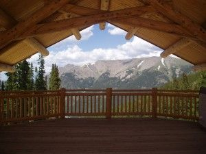 Mountain top wedding ceremony site. Weddings at Copper Mountain Resort, Copper Mountain, Colorado.