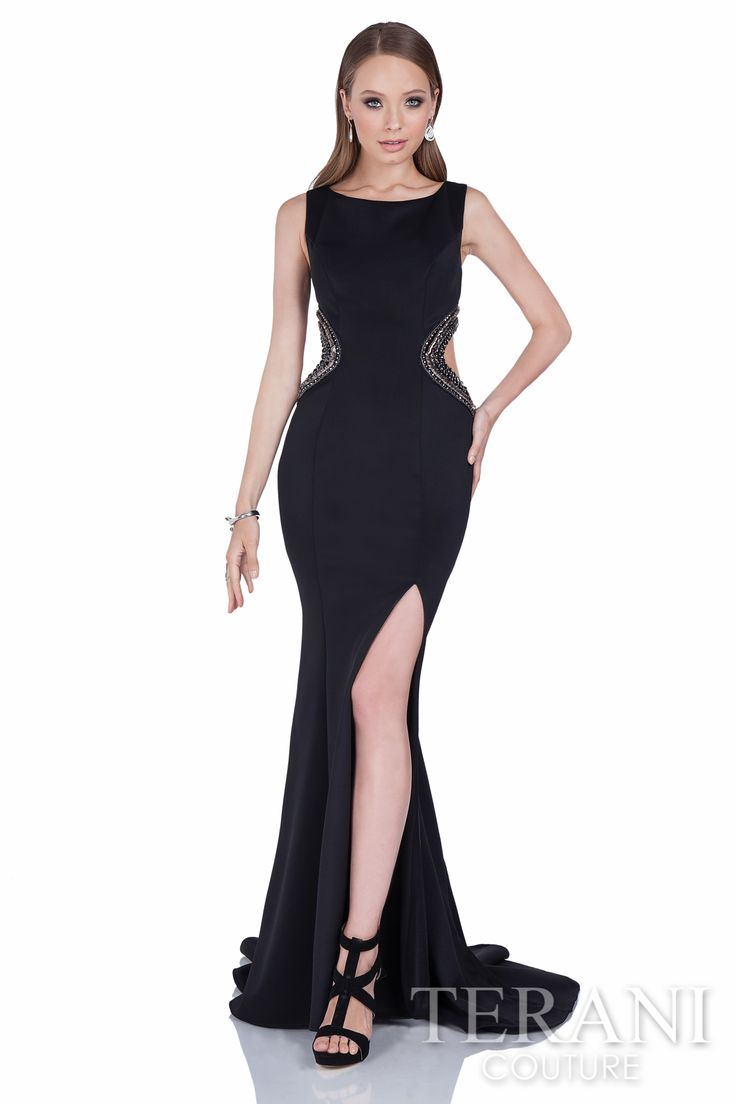 How to style short black evening dresses