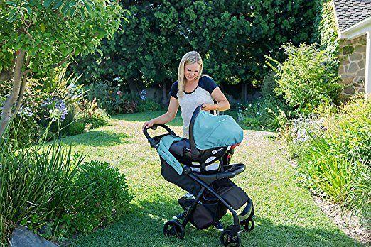 Amazon.com : Graco Verb Travel System Stroller, Azalea : Baby
