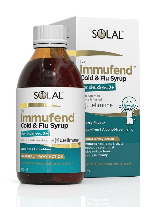 Solal Immufend Syrup