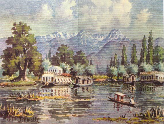 Image result for kashmiri paintings called?