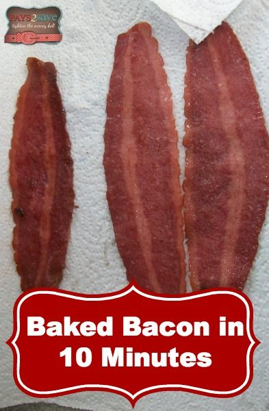 Baked Bacon In Toaster Oven 10 Minutes I Love Cooking Our Turkey This Way Instead Of Using The Microwave Recipes Pinterest