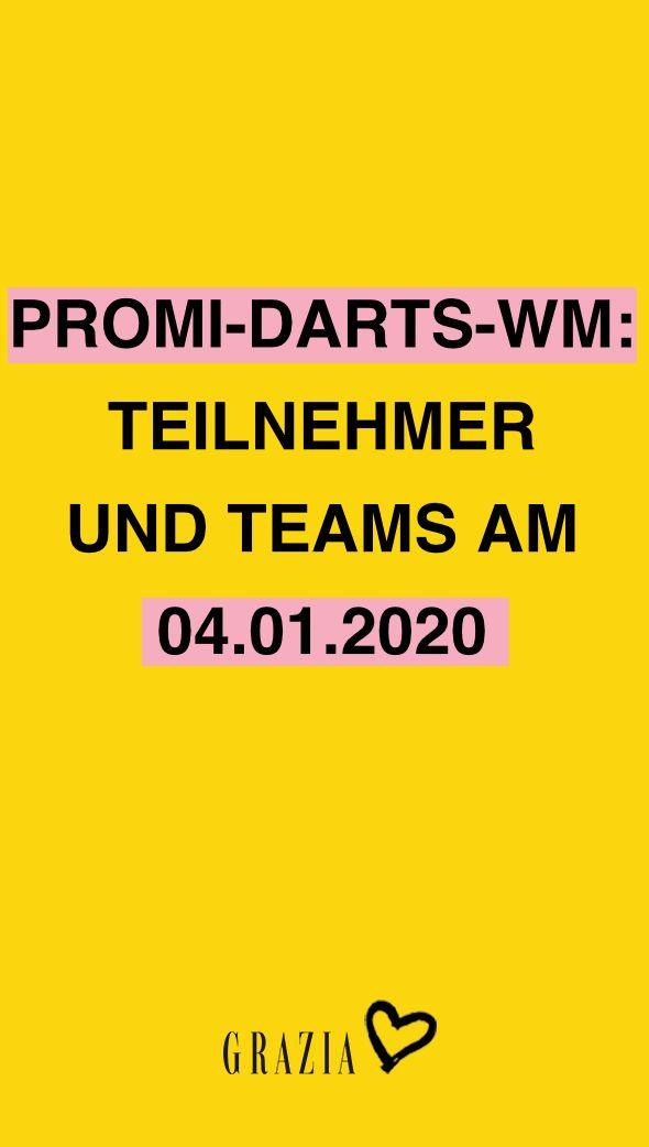 Promi darts wm 2020 teilnehmer