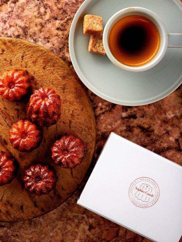 café gourmand Sophies canelé Stockholm