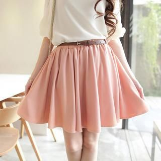 Buy 'Tokyo Fashion – Pleated Skirt' with Free International Shipping at YesStyle.com. Browse and shop for thousands of Asian fashion items from Taiwan and more!