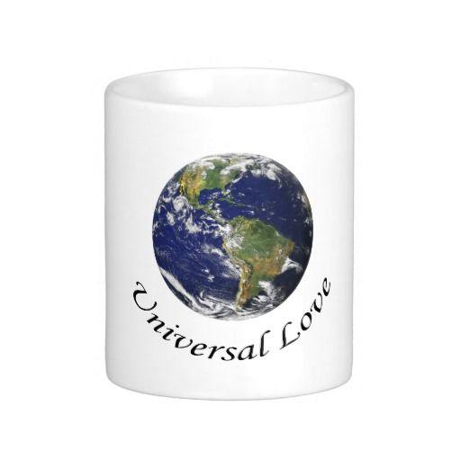Universal Love on Earth coffee mug