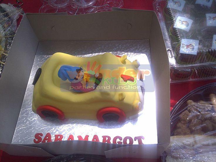 Noddy Themed Cake  http://www.wonder-parties.co.za/